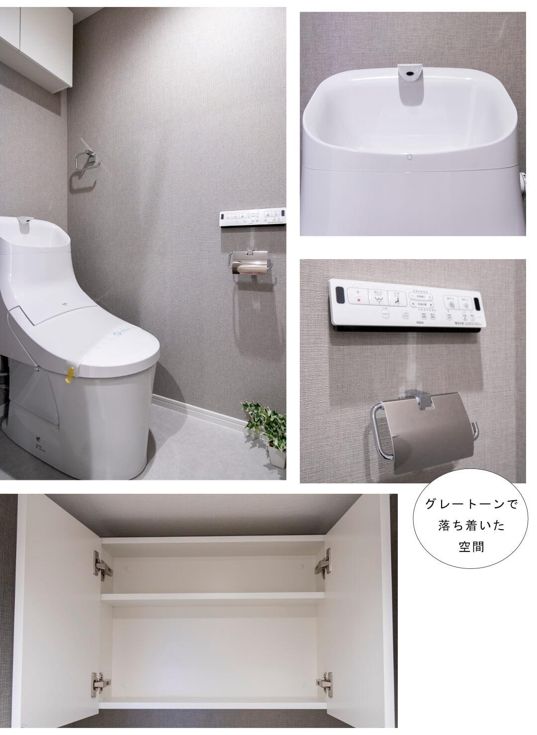 ハイマート渋谷神泉 302のトイレ