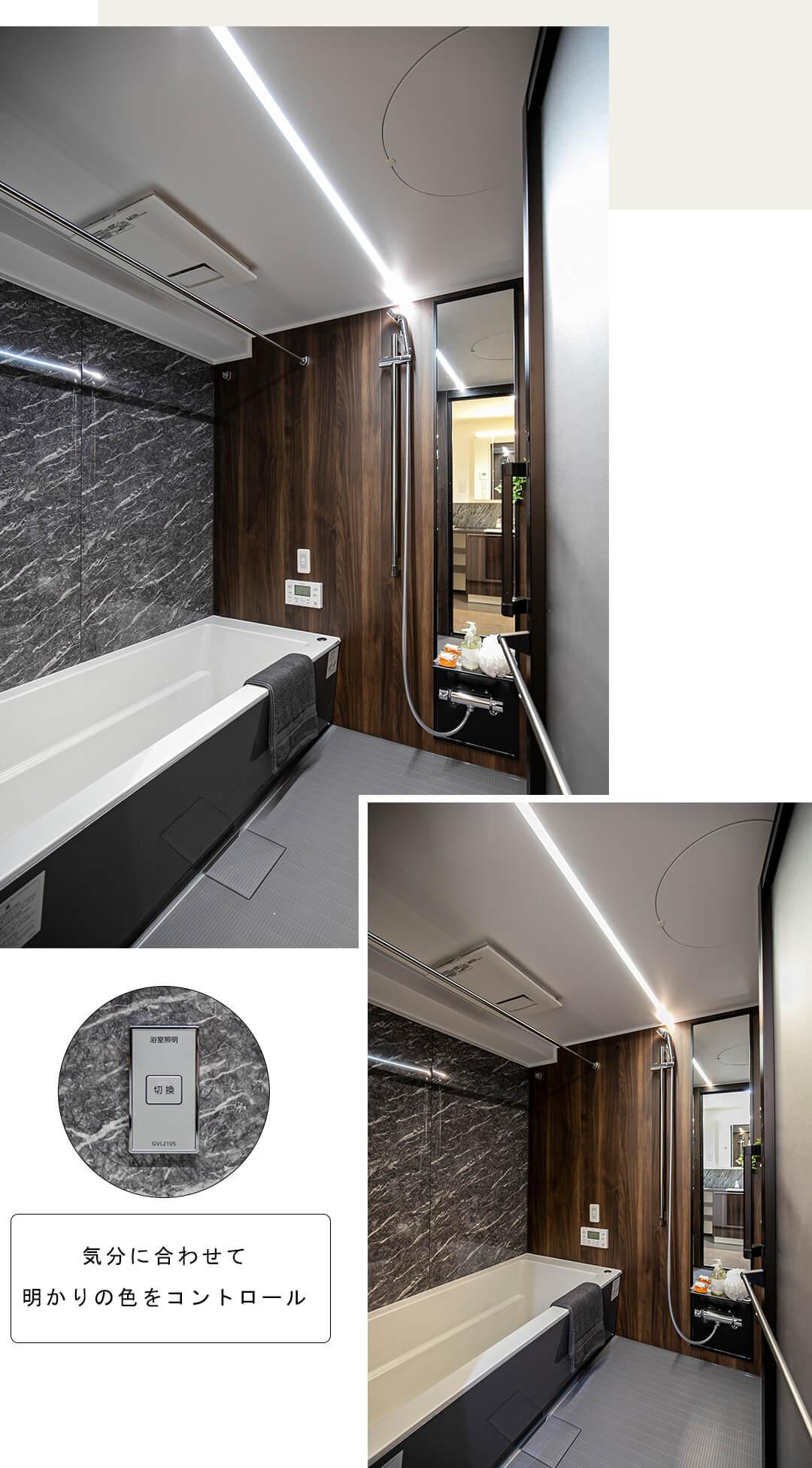 代官山アドレスザ・タワーの浴室