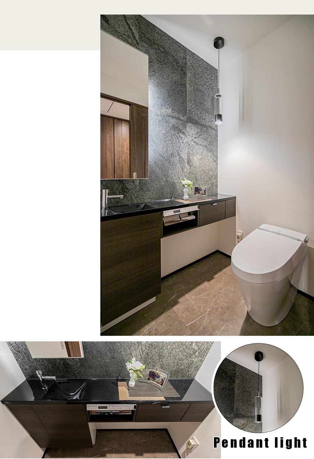 代官山アドレスザ・タワーのトイレ