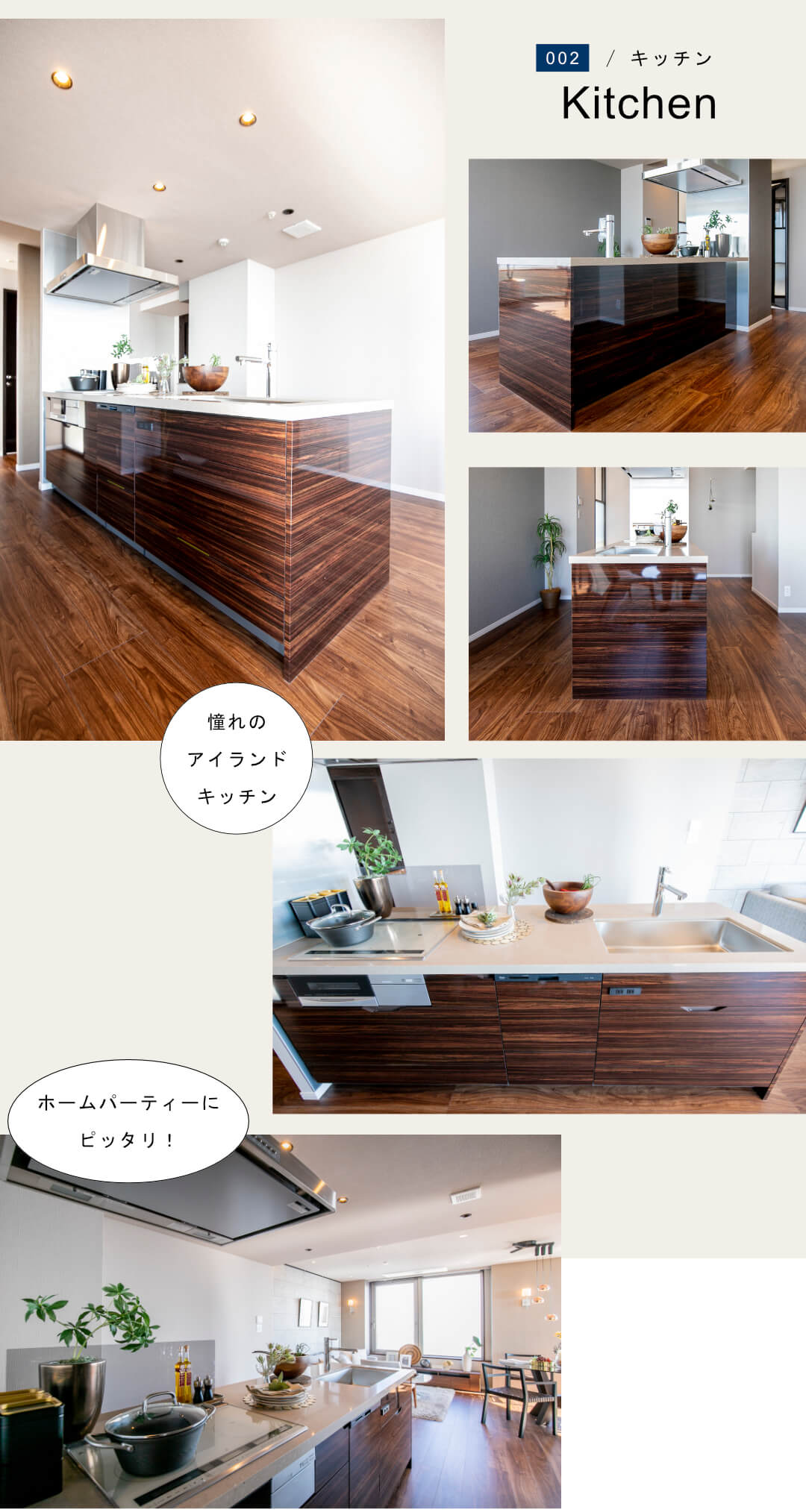 センチュリーパークタワー3307のキッチン