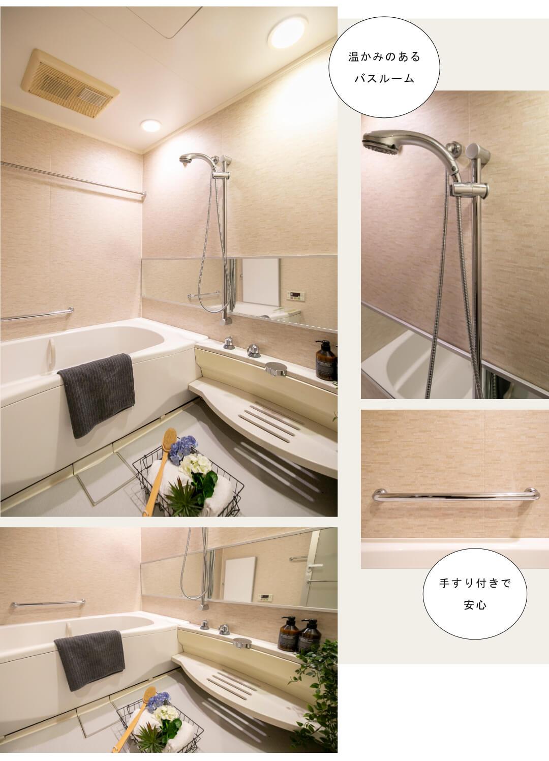 ラ・プラースウエスト1301の浴室