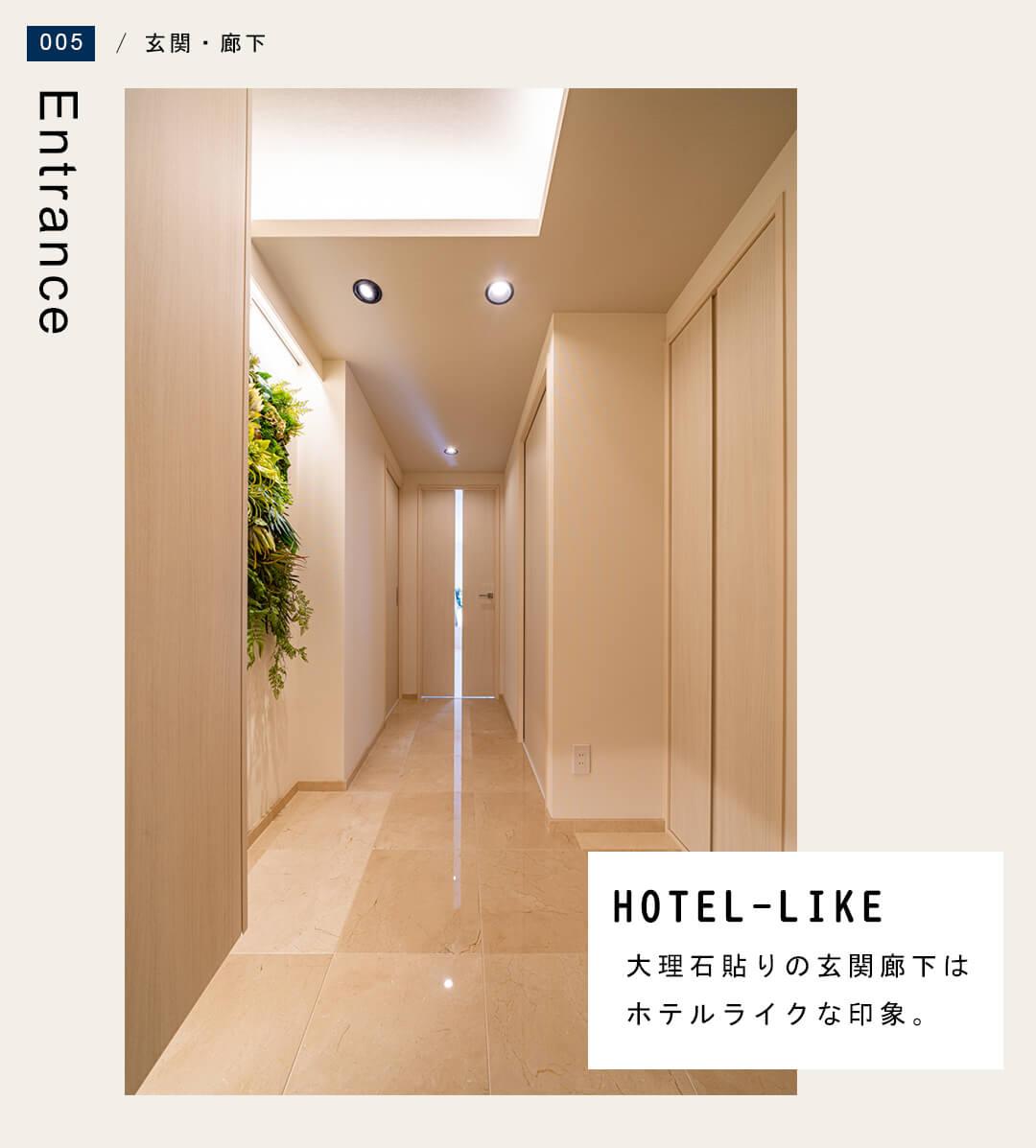 ヴィンテージ文京千石の玄関廊下