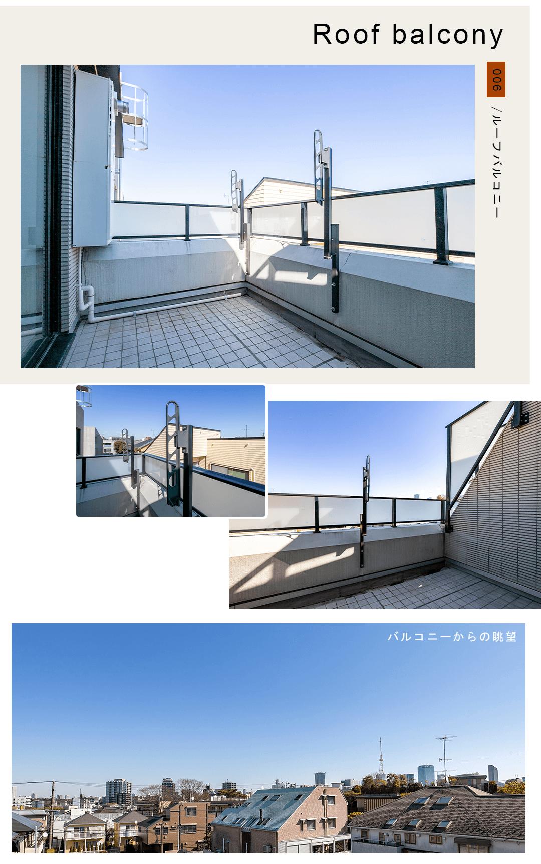 006ルーフバルコニー,Roofbalcony