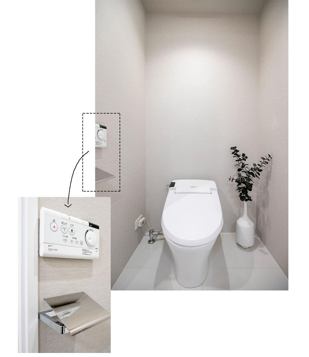 セルフィスタ渋谷のトイレ