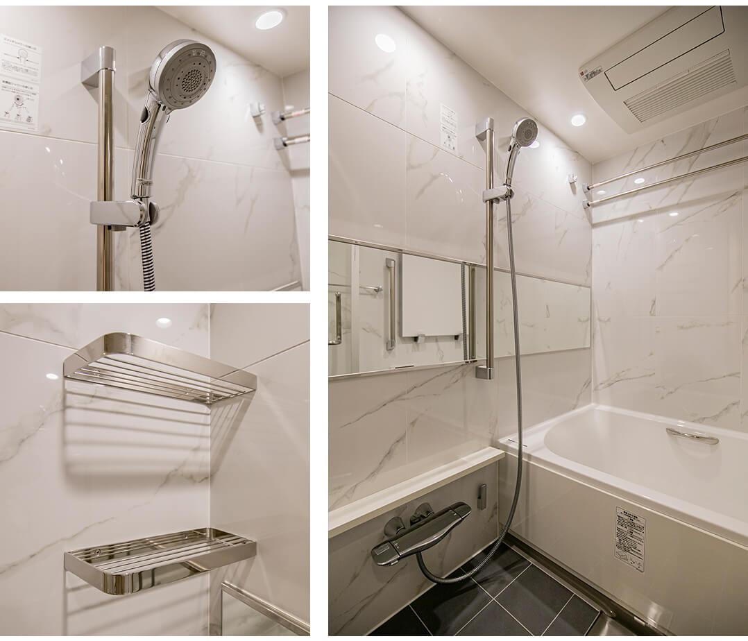 宮益坂ビルディングザ・渋谷レジデンスの浴室