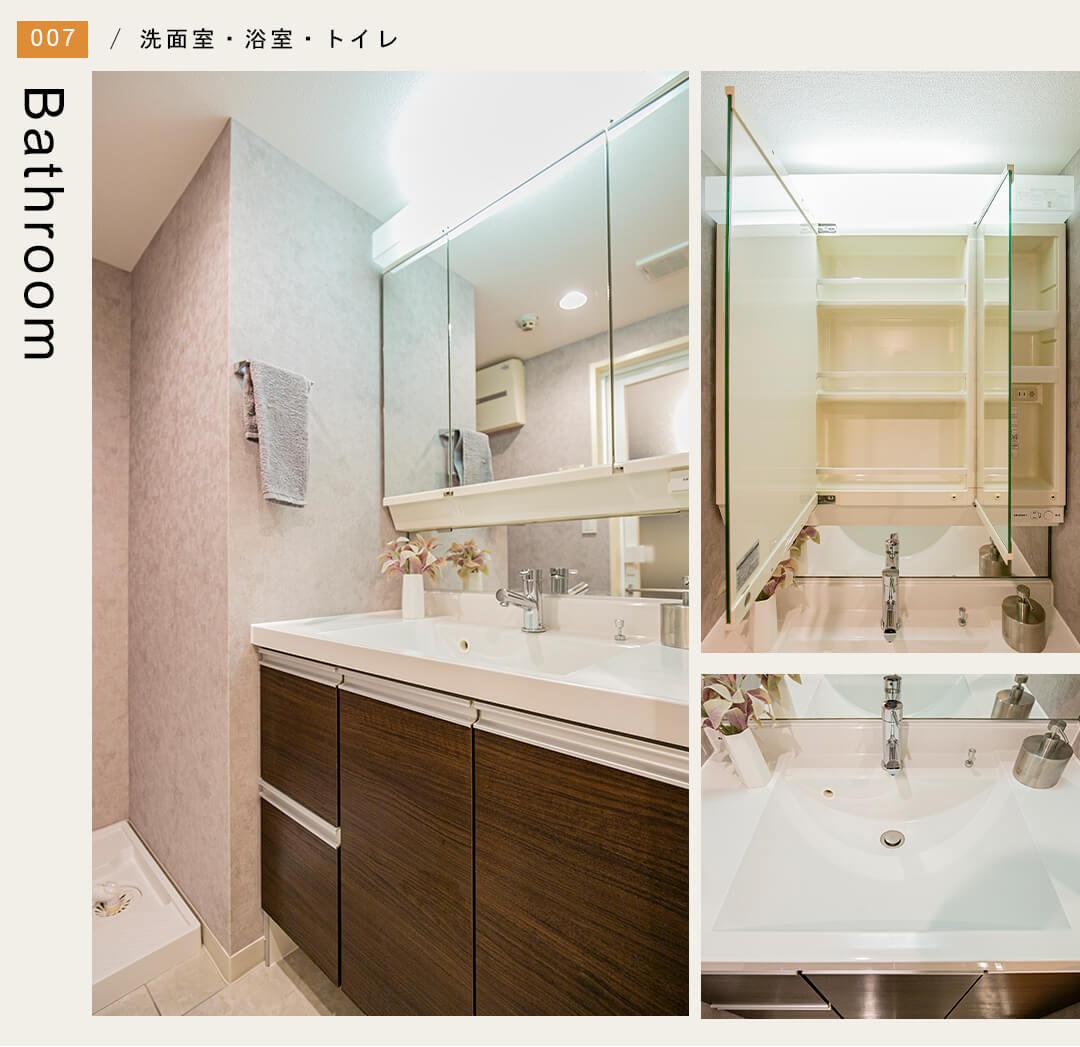 セザール松陰神社の洗面室