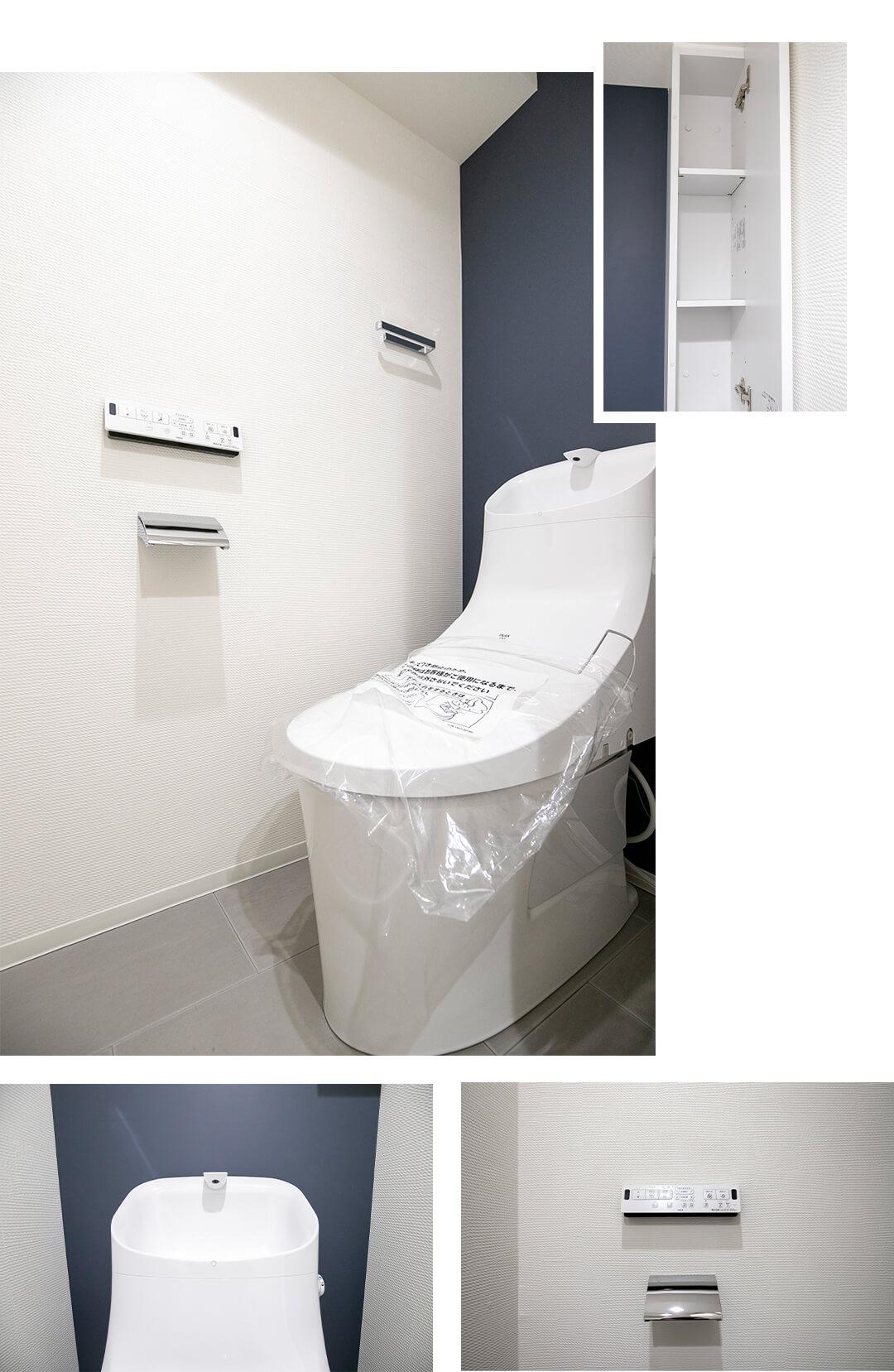 ライオンズマンション下目黒のトイレ