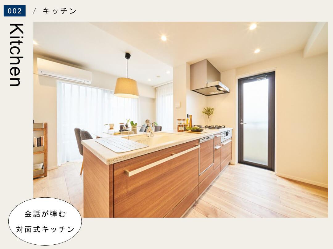 ナイスアーバン石神井公園 201号室のキッチン