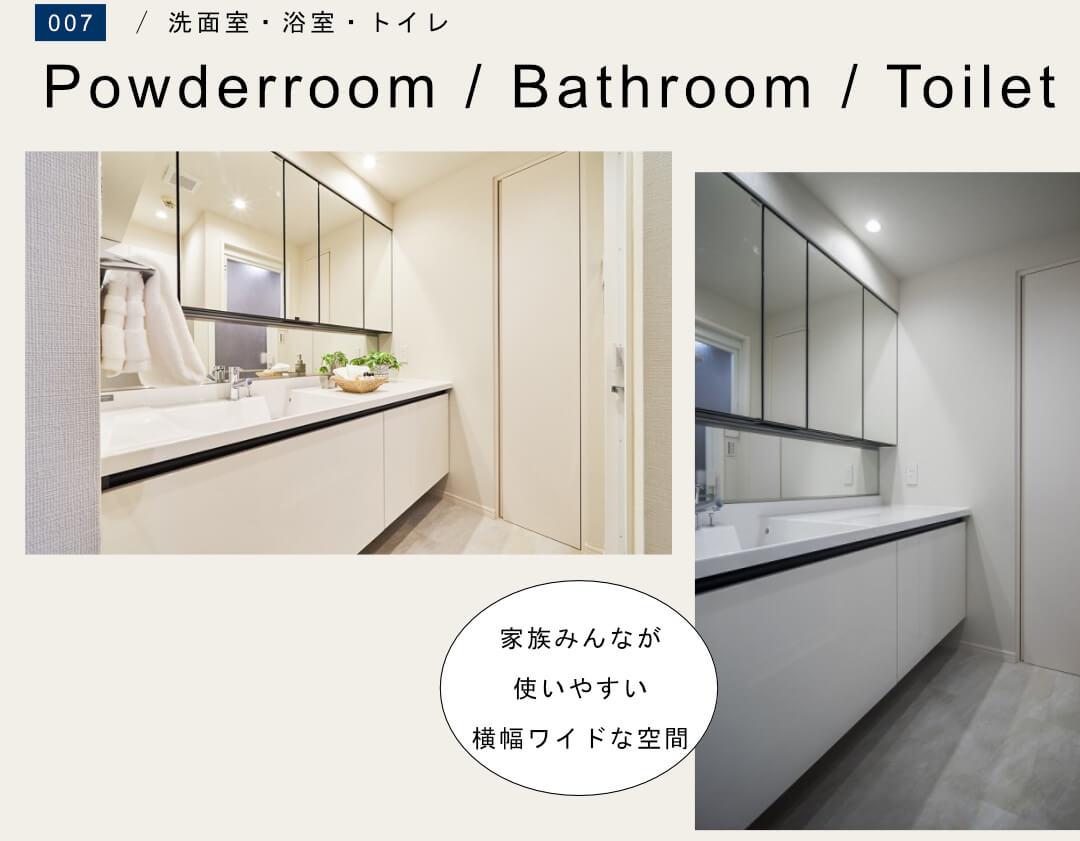ナイスアーバン石神井公園 201号室の洗面室