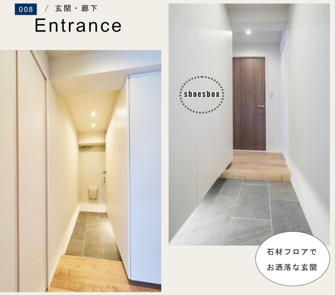 ナイスアーバン石神井公園 201号室の玄関