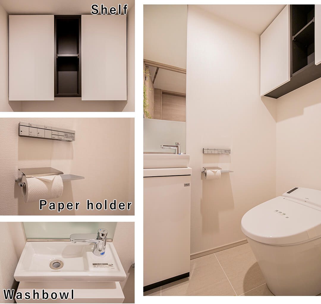 ピアース阿佐ヶ谷のトイレ