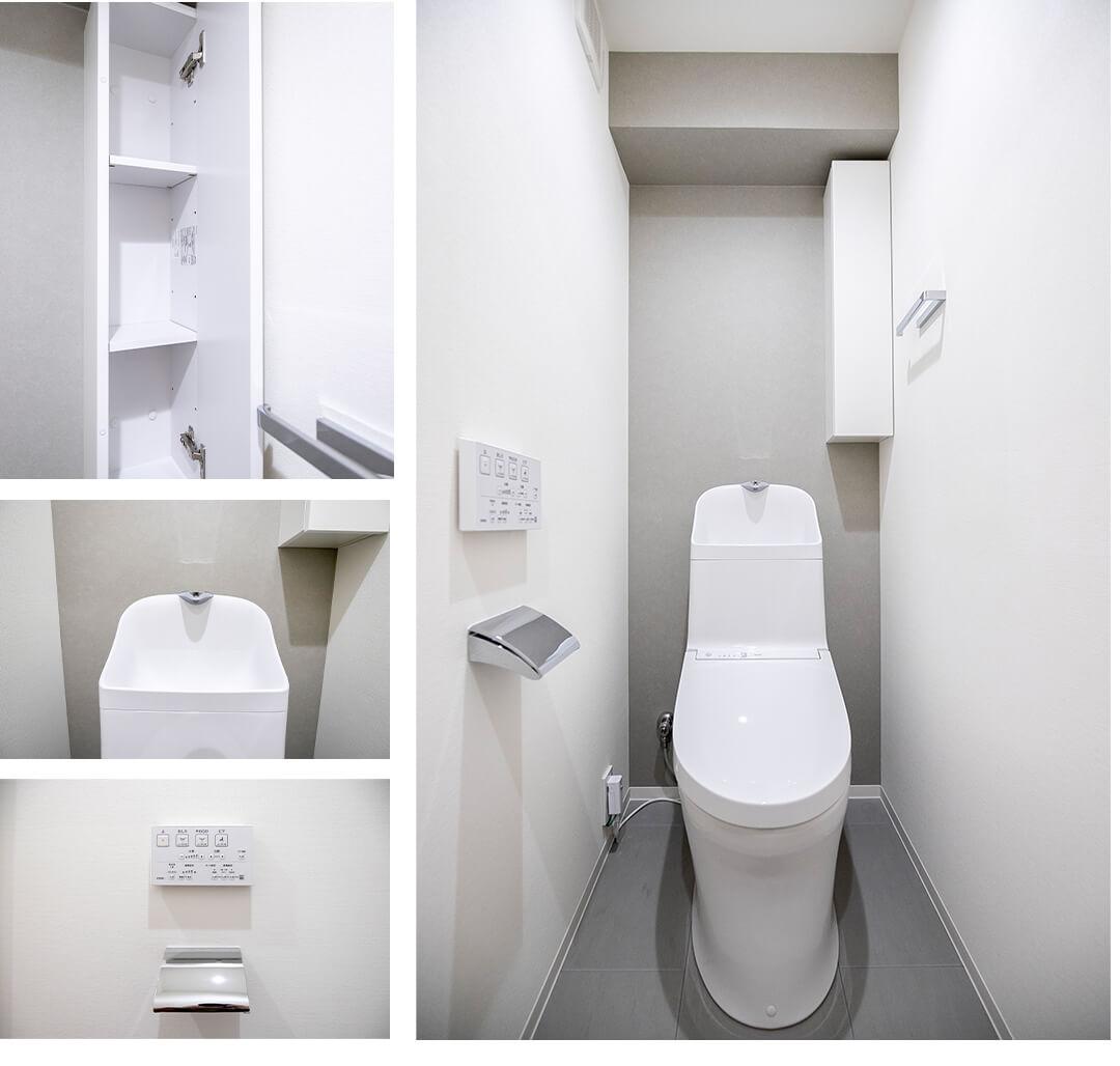 ソフトタウン南青山のトイレ