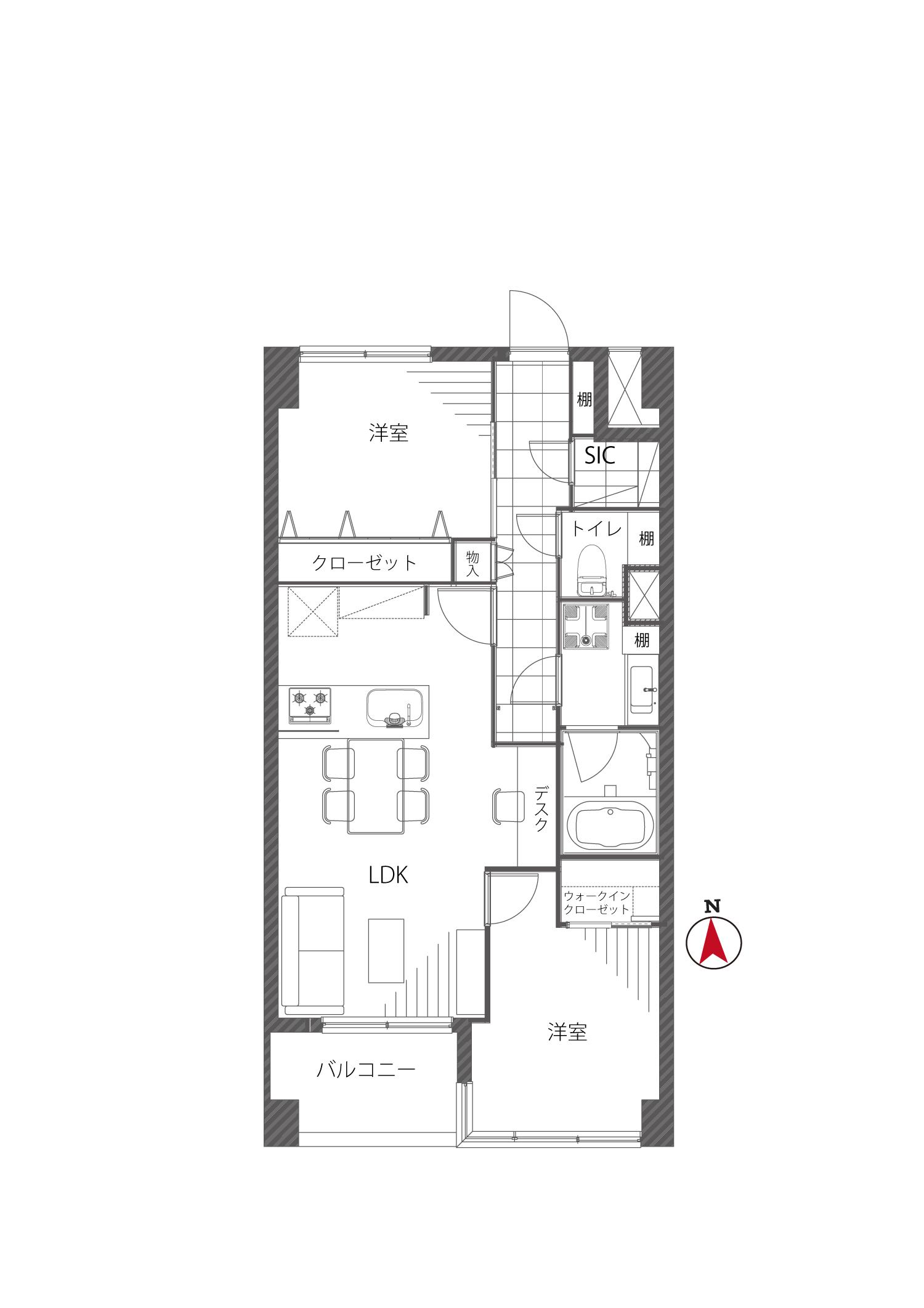 インペリアル広尾 使いやすく、居心地の良い部屋