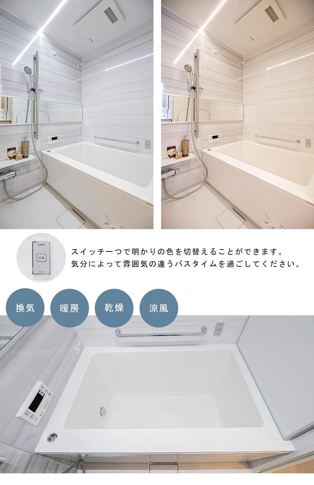朝日シティパリオ西早稲田館の浴室