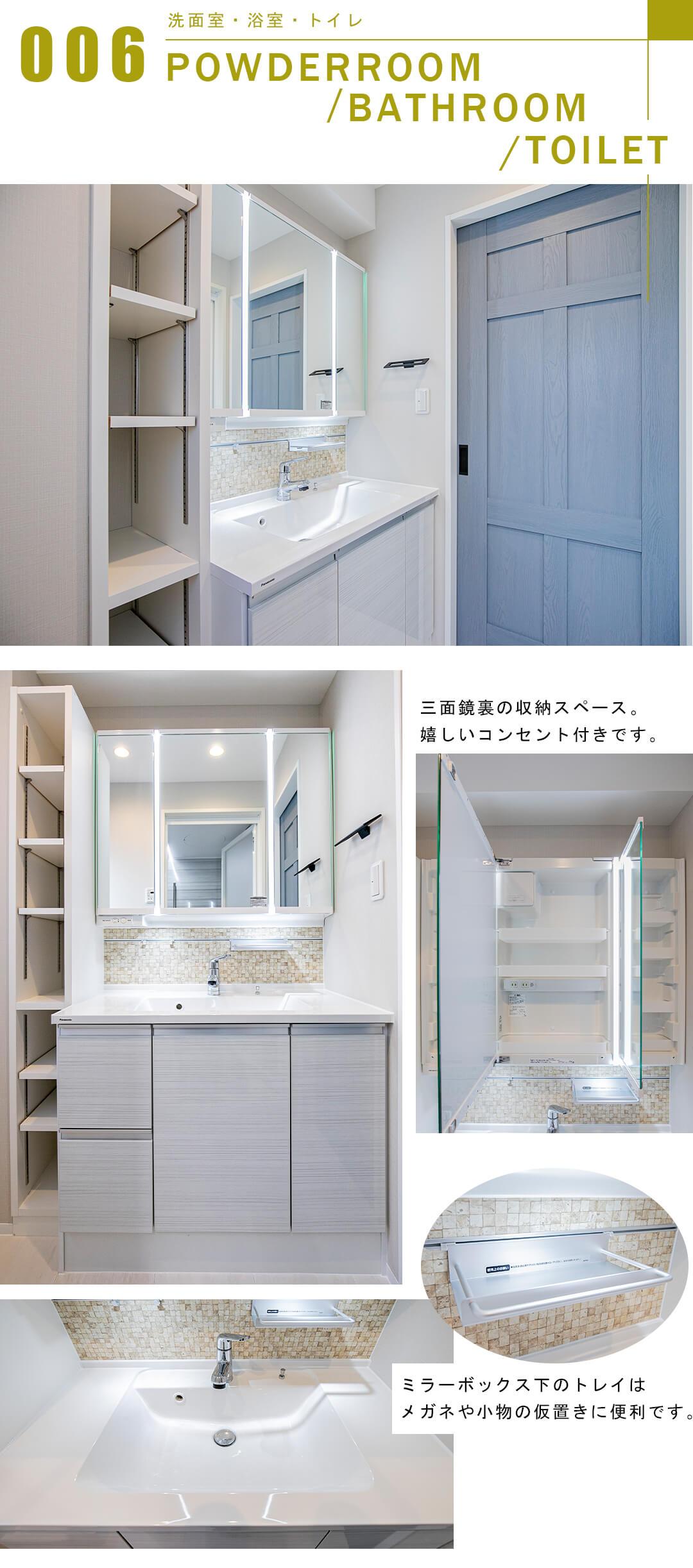 ライオンズマンション阿佐ヶ谷第2の洗面室