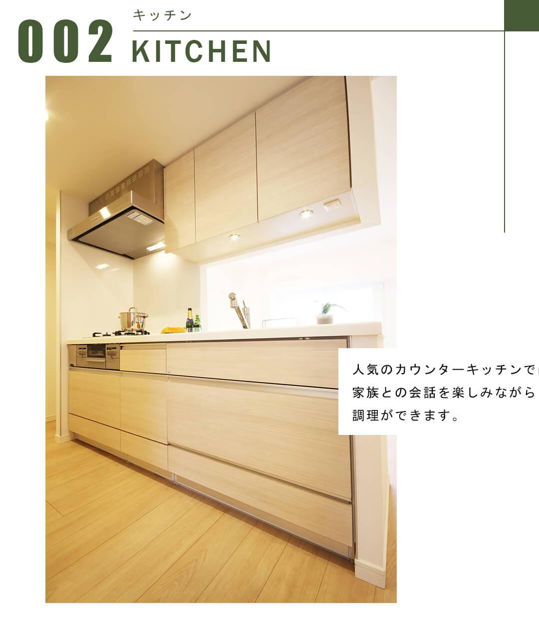 シーフォルム西新宿五丁目のキッチン