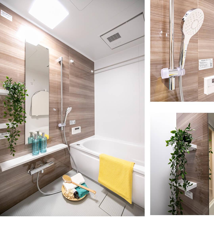 ファミールグラン上用賀八条通りの浴室