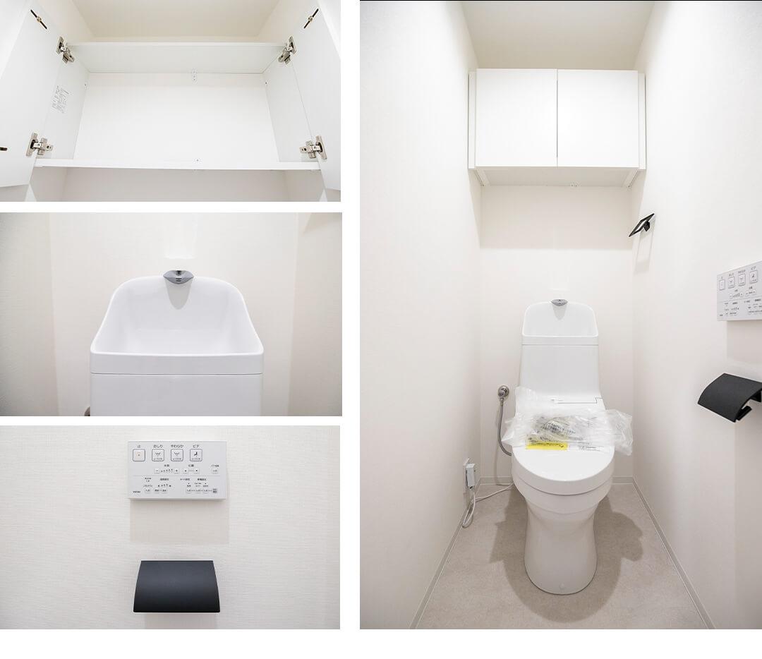 ベイサイドステージ東京のトイレ