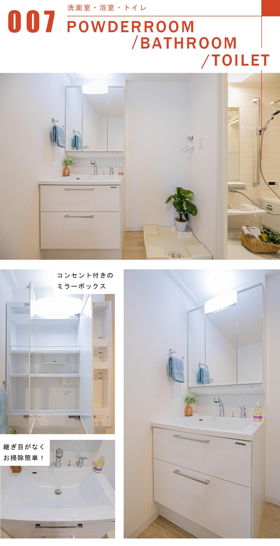 グランドステージ中野新橋の洗面室