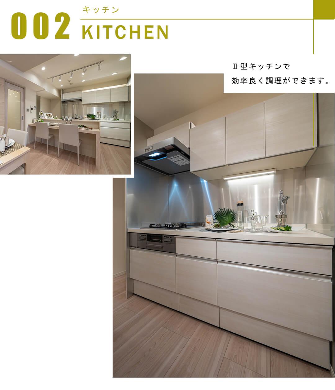 セザール白金ガーデンのキッチン