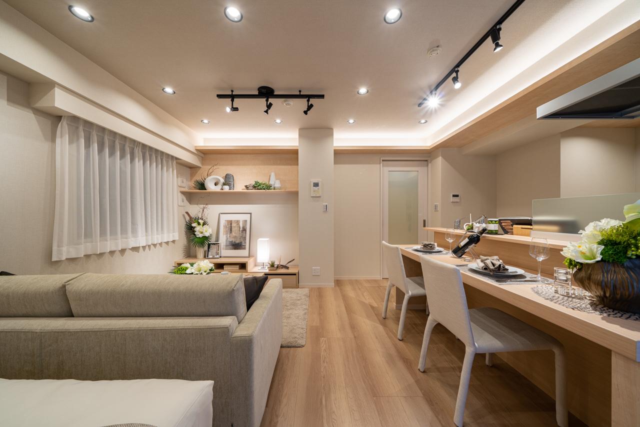 広尾 コンパクトで暮らしやすい部屋