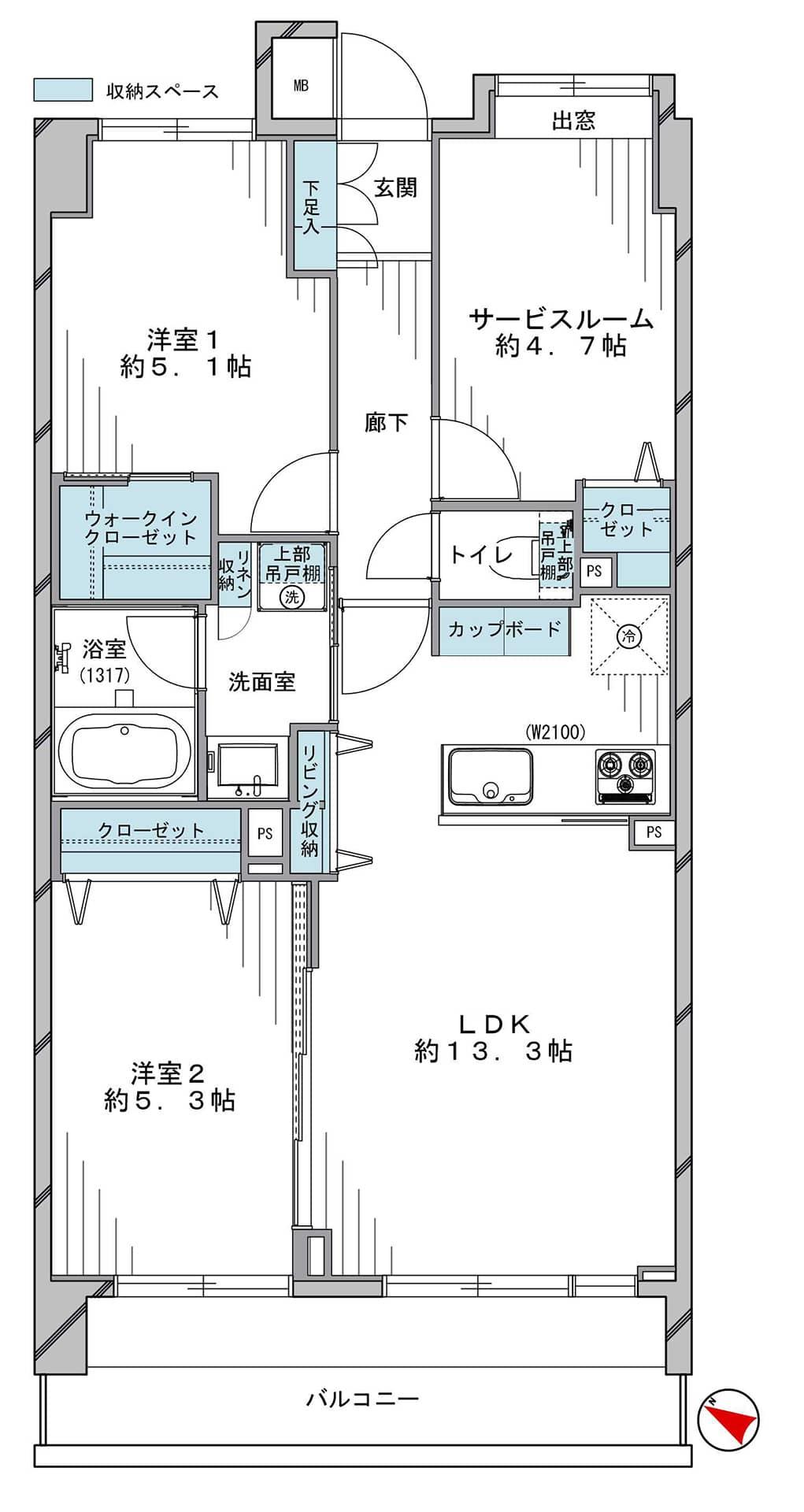 コスモ成増シティフォルム