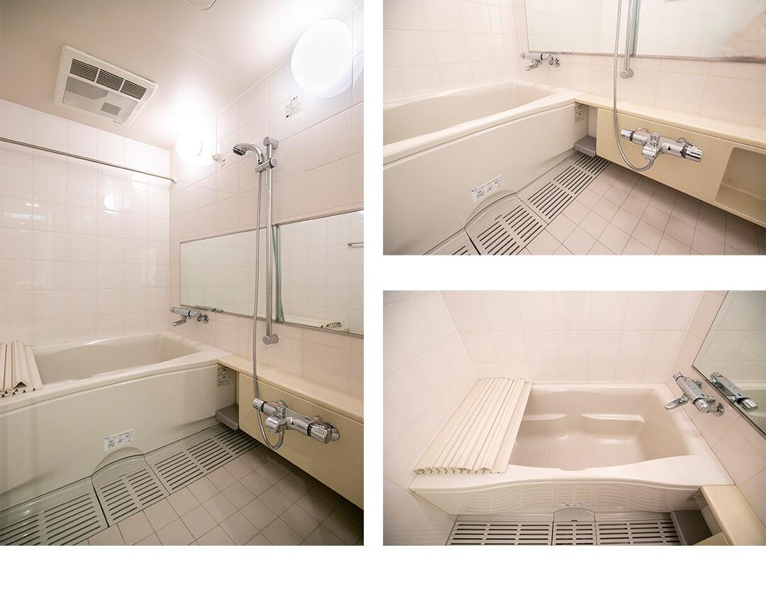 ビュロー平河町の浴室