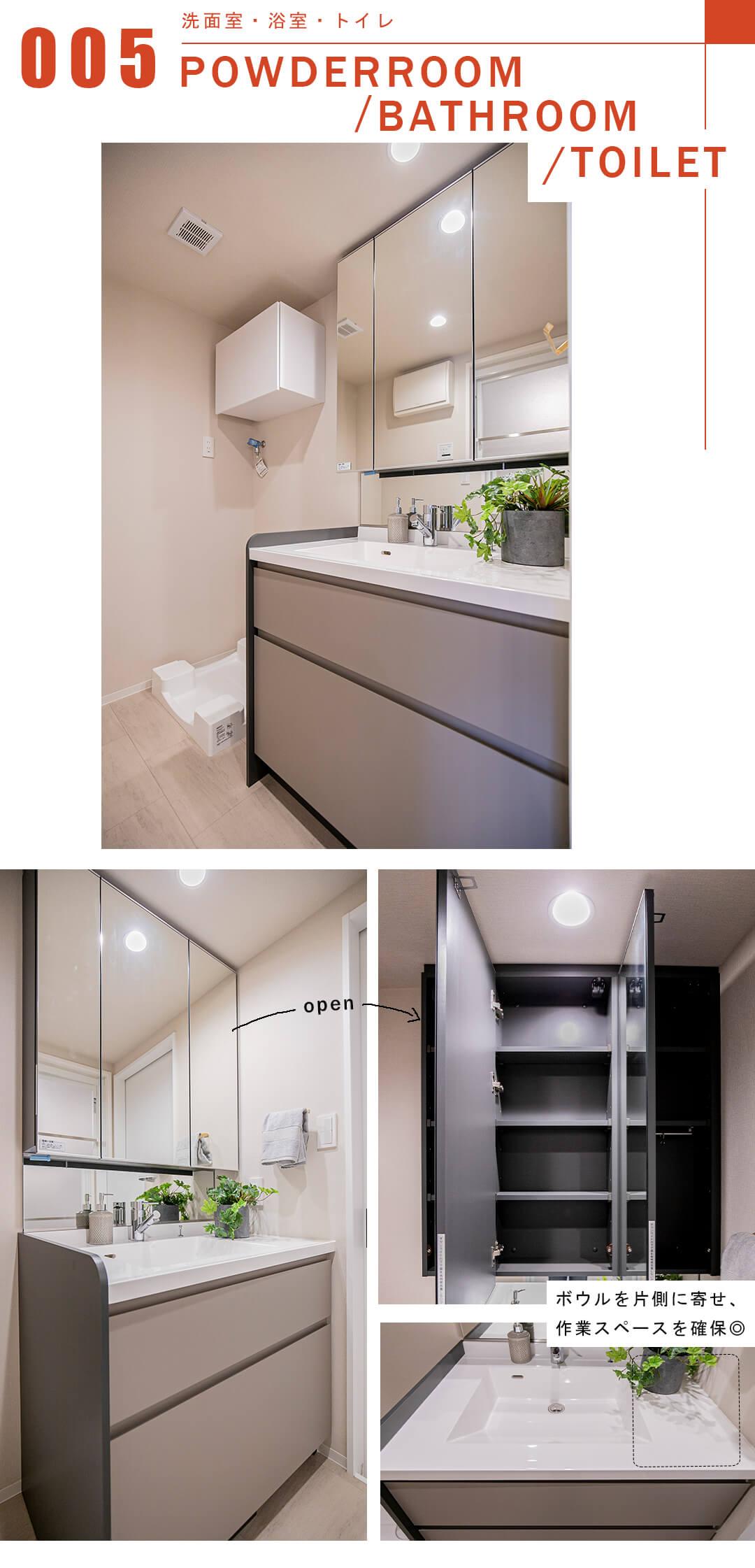 メゾン西荻の洗面室