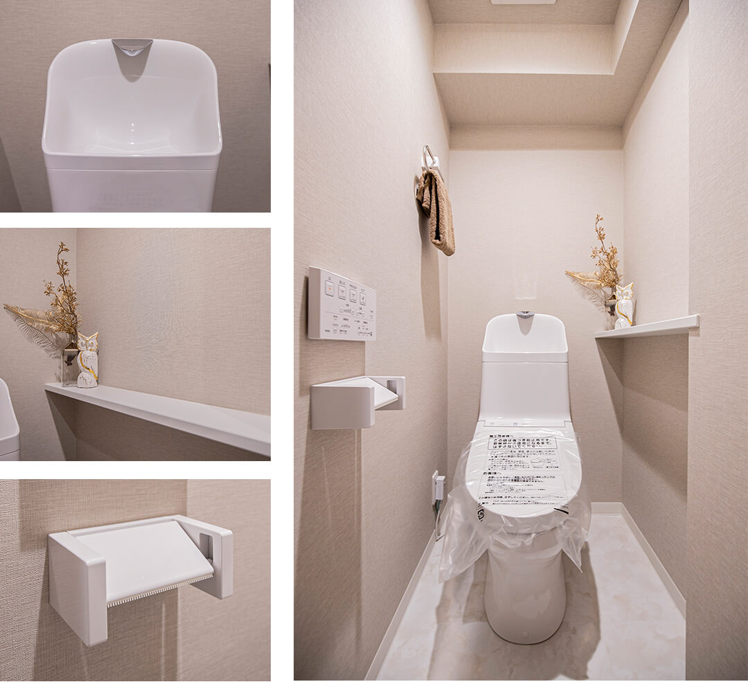 アートコート早稲田戸山公園のトイレ