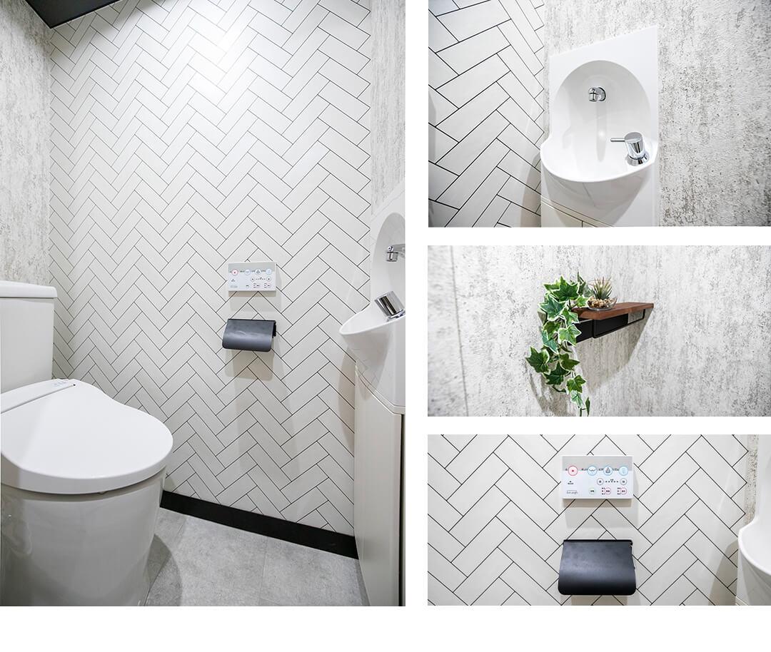 シャトレー渋谷のトイレ