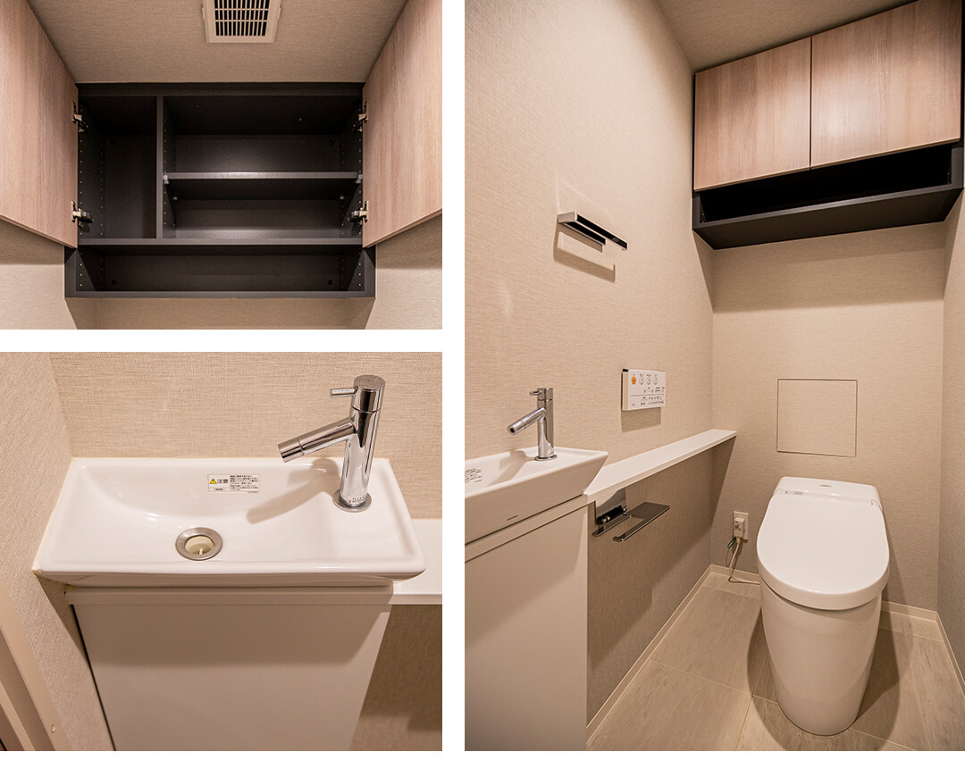 PREMIST新宿山吹のトイレ