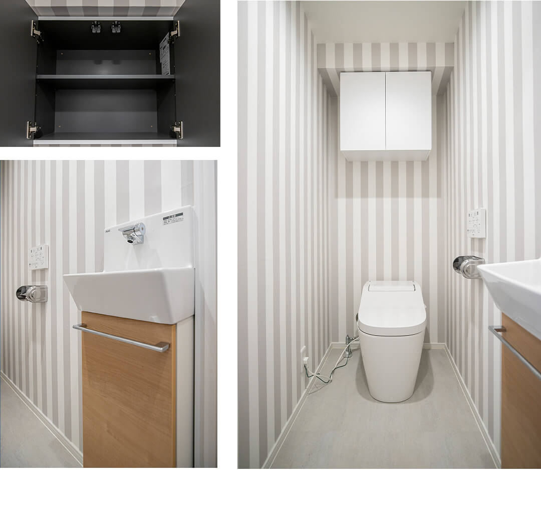 パラッシオ用賀のトイレ