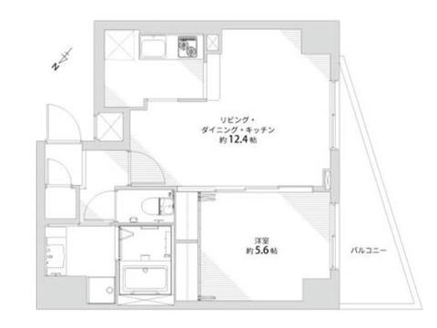 ドルチェ東京・八重洲通り 部屋を繋げて一体空間に