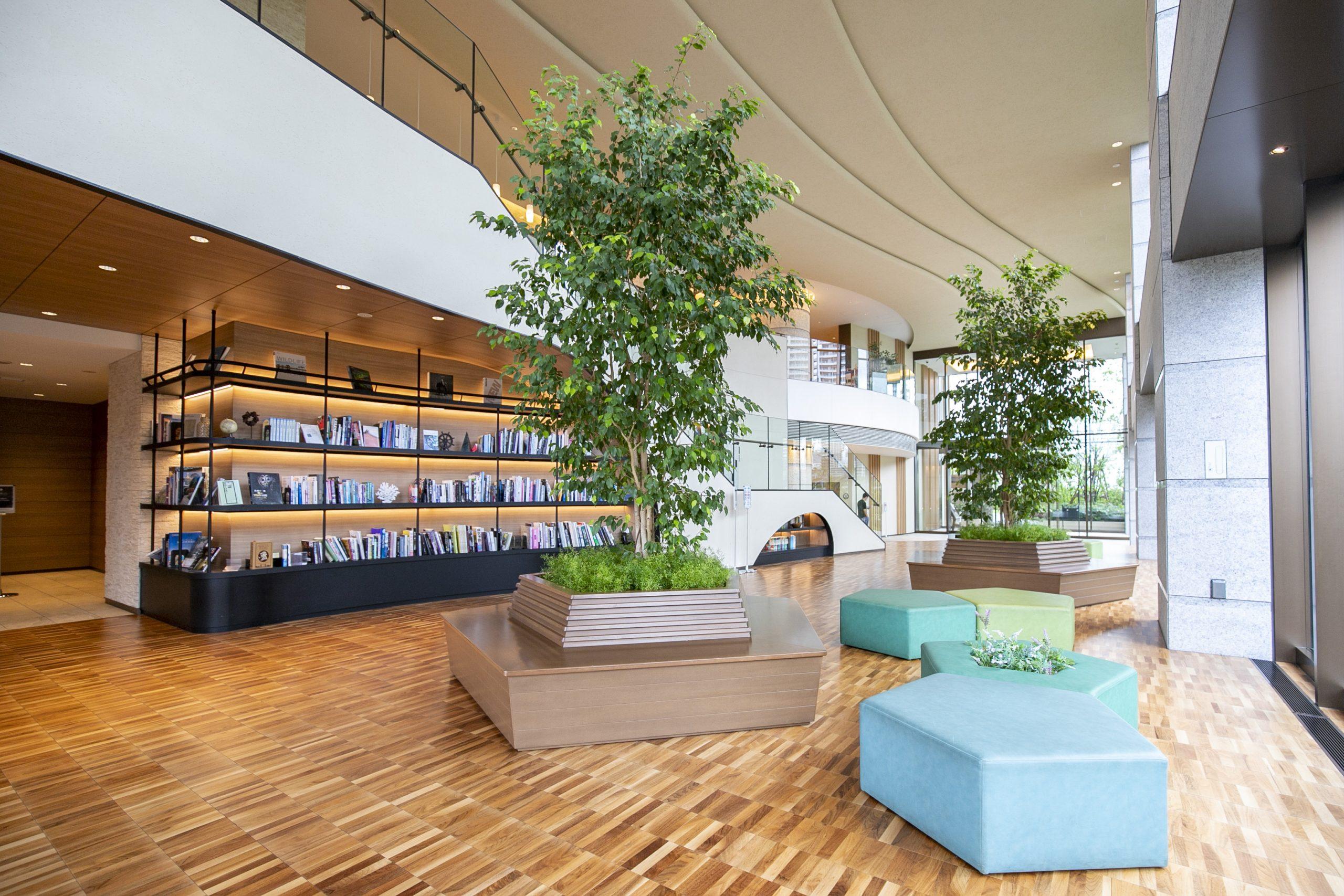 パークタワー晴海 オリエンタルランドが作り出すリゾートホテルのような雰囲気