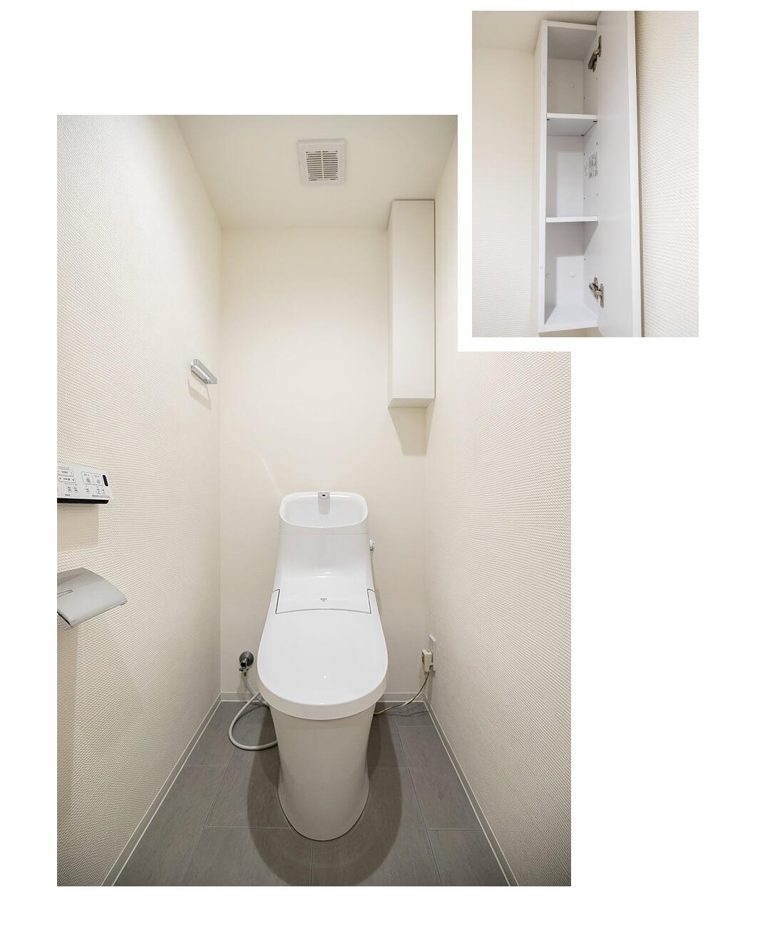 第2サンライズ五反田のトイレ