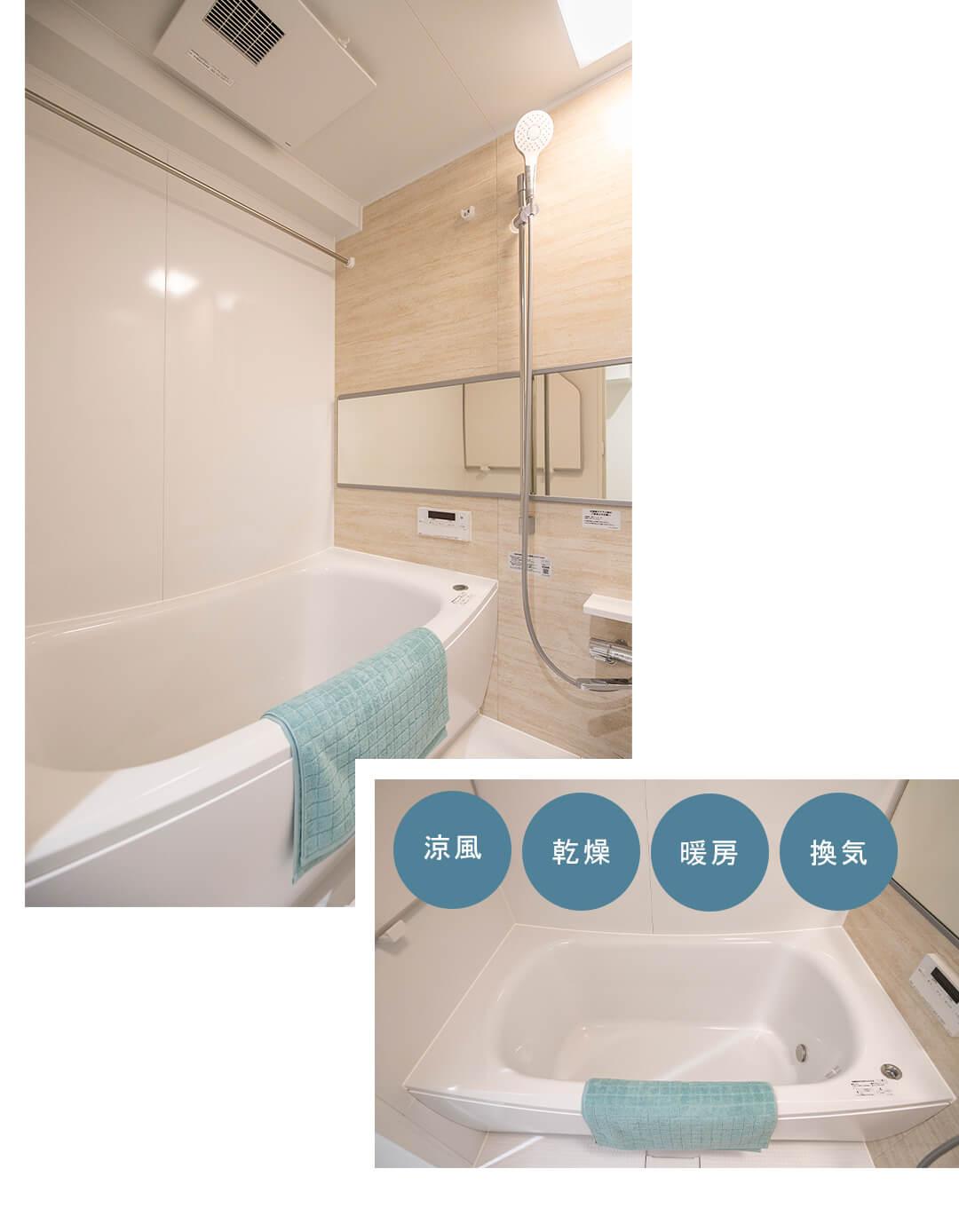第2サンライズ五反田の浴室