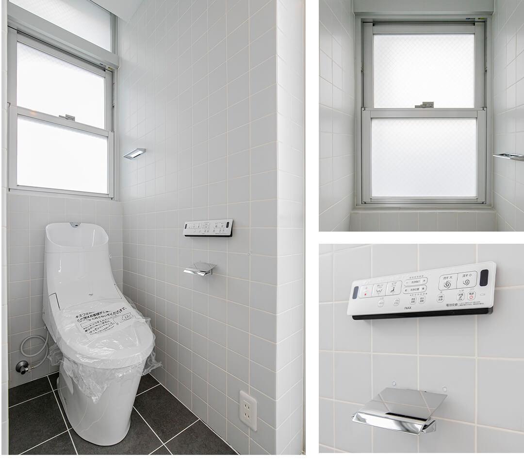 triplexのトイレ