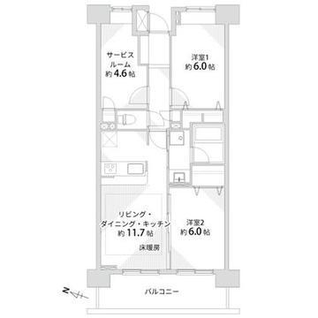 クレストフォルム上野の杜 木目が心地いいリラックス空間