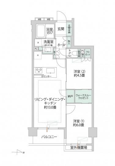 センチュリー荻窪 収納豊富で暮らしやすい部屋
