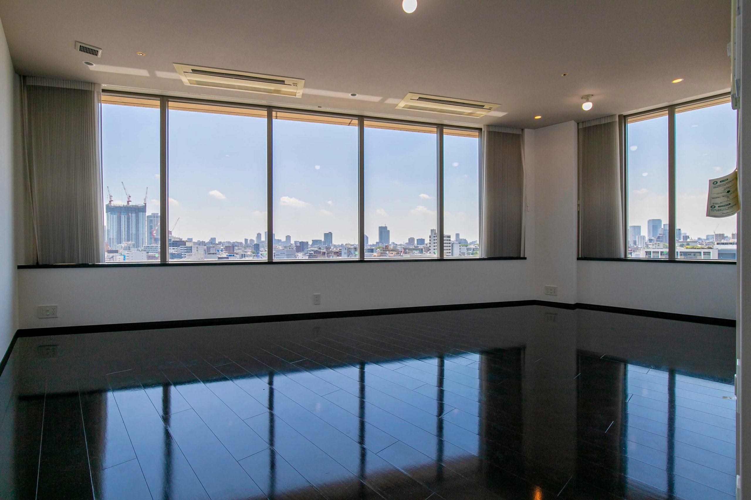 パークコート麻布十番ザ・タワー 開放的な眺望と、充実した設備