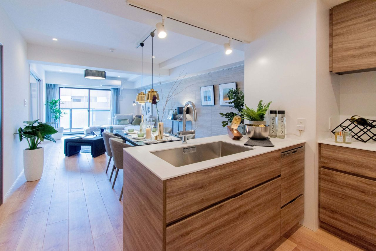 対面キッチンにこだわりたいならリノベーションマンション購入がオススメな理由