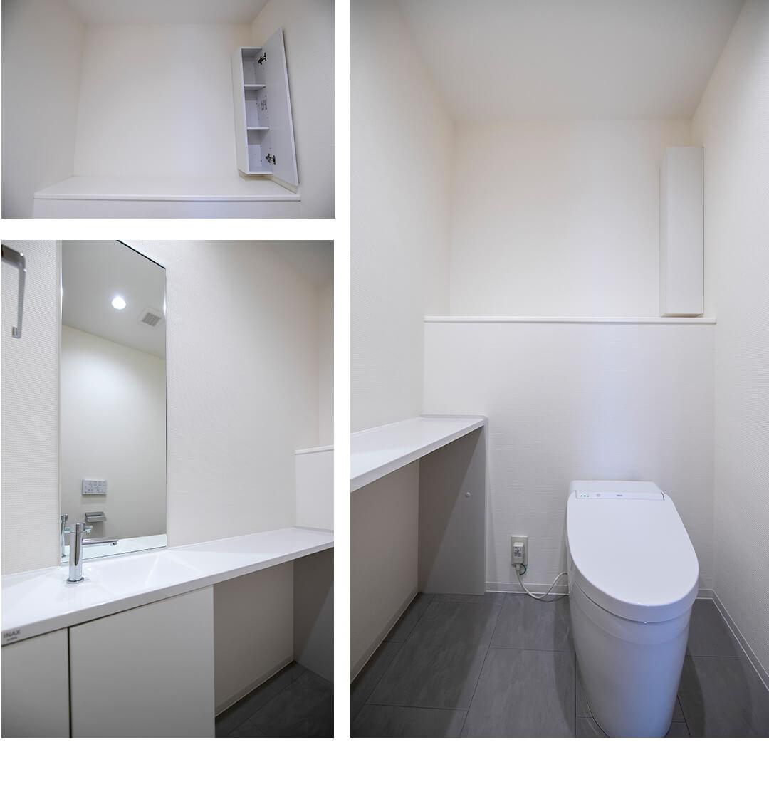 ベイサイドステージのトイレ