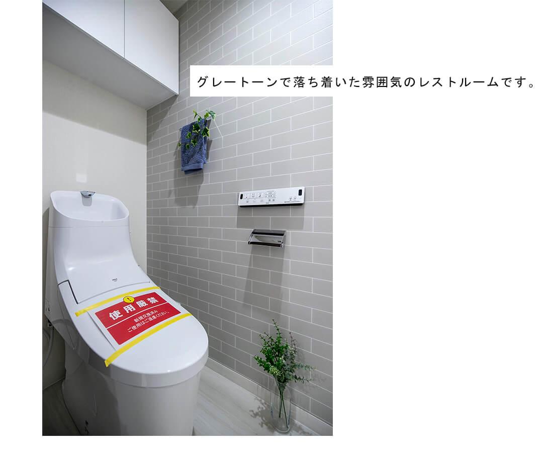秀和五反田駅前レジデンスのトイレ