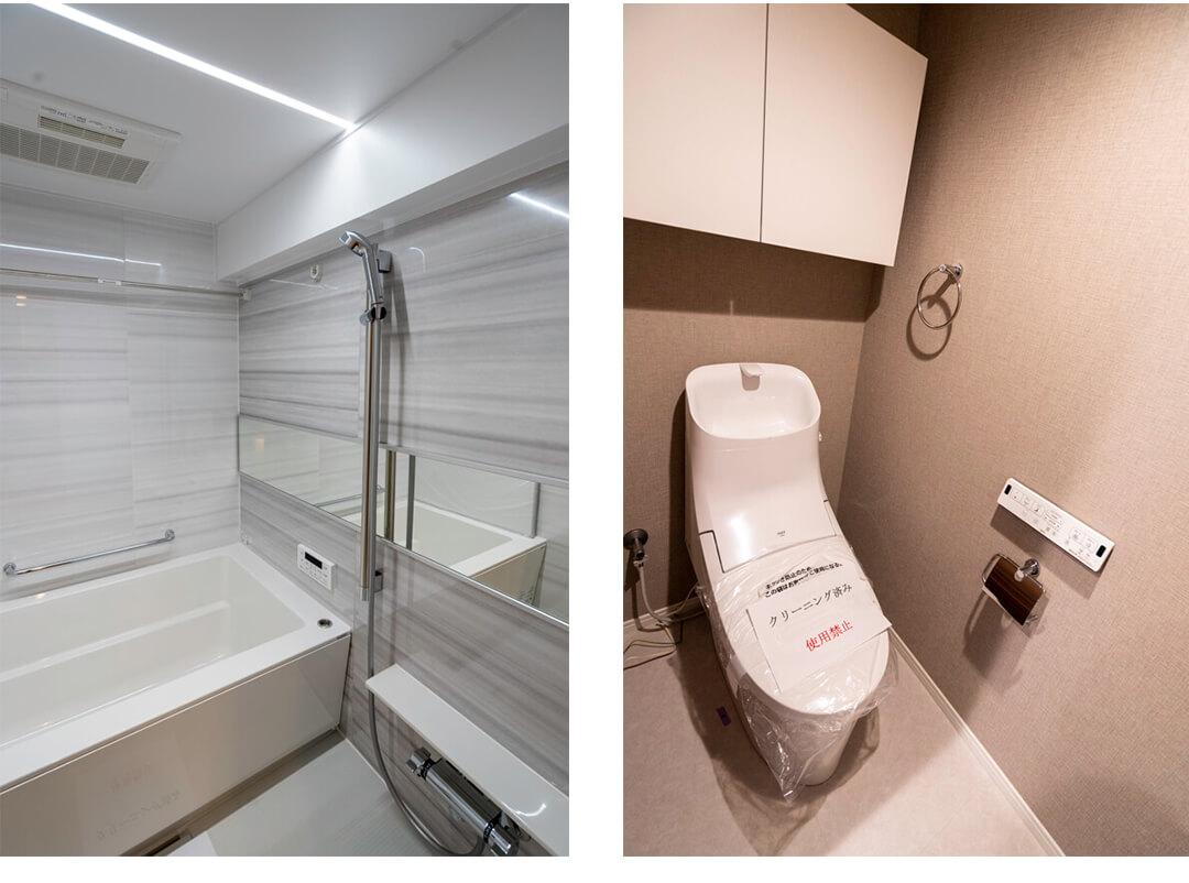 メゾンドール明石の浴室・トイレ