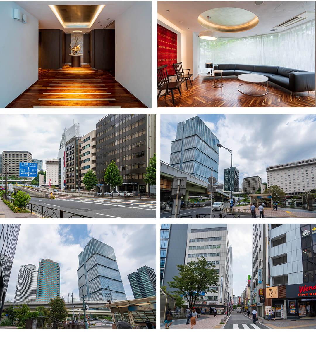 ジオ元赤坂の共用部と周辺情報