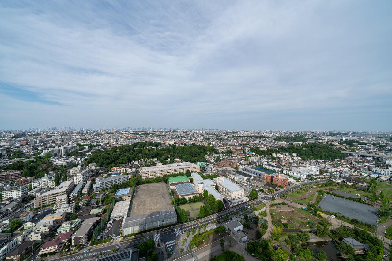 二子玉川ライズ タワー&レジデンス タワーイースト 美しい眺望を堪能できる住まい