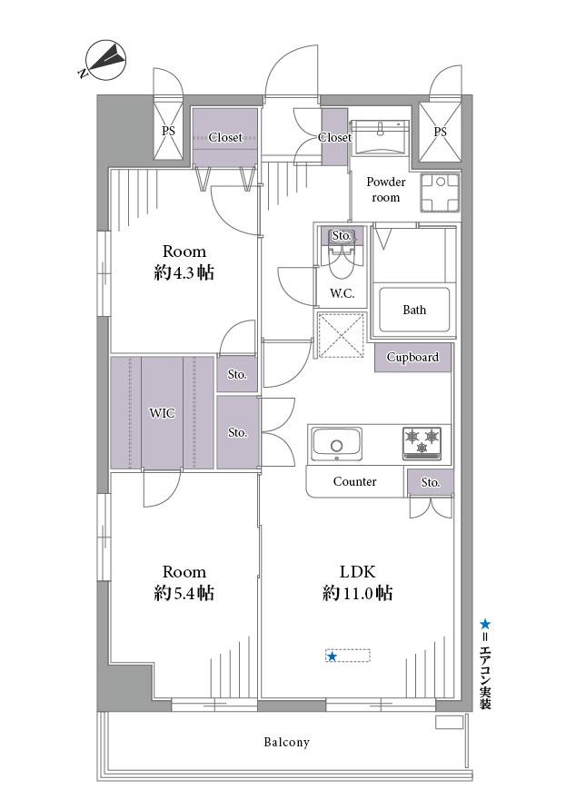 アヴィ二ティー銀座東 東京駅も徒歩圏内、4駅使えるマルチアクセス