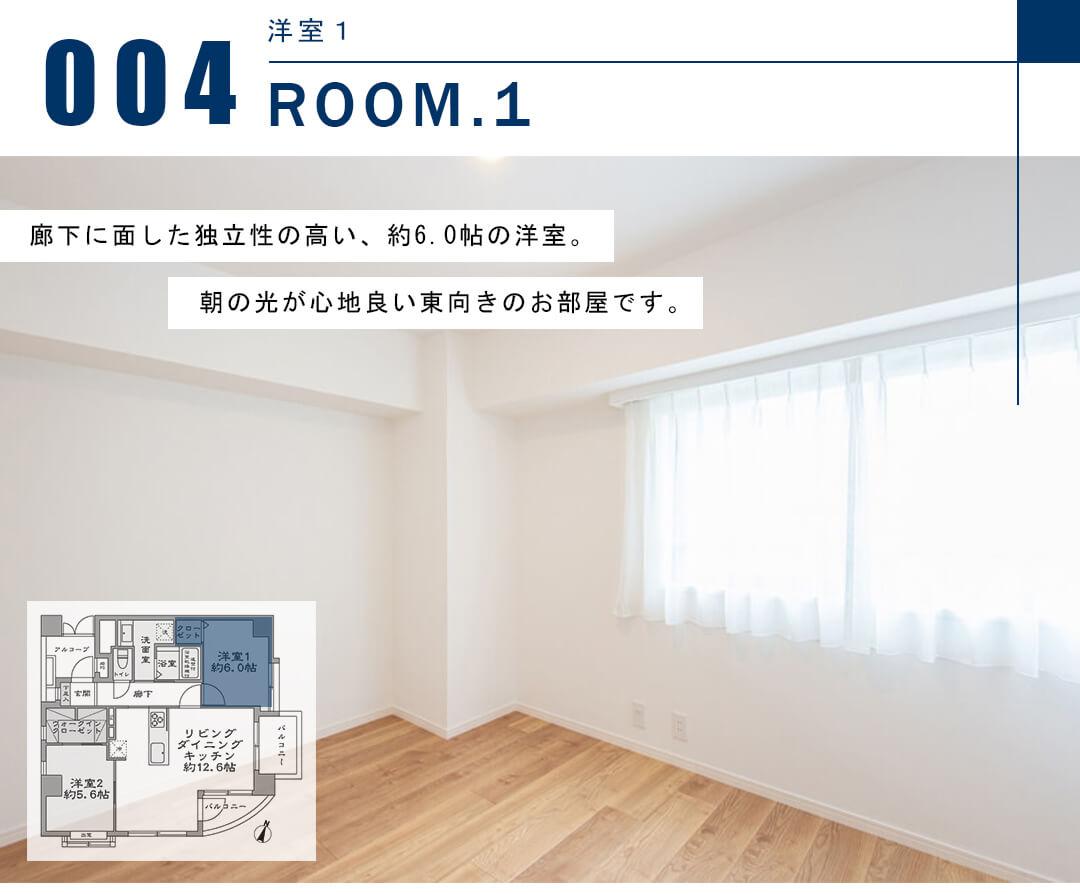 セザール小石川の洋室1
