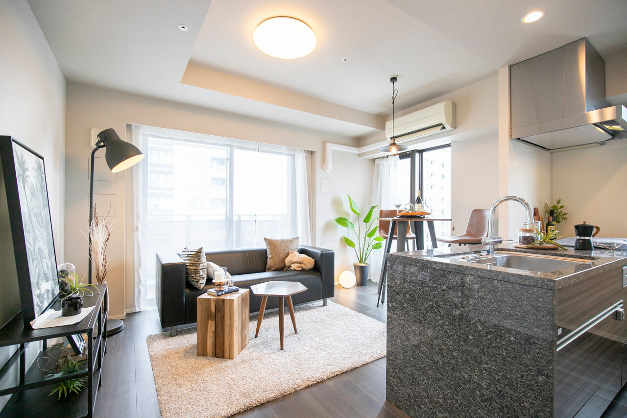 ルフォン白金台ザ・タワーレジデンス 駅から徒歩1分、19階にあるペットと暮らせる部屋