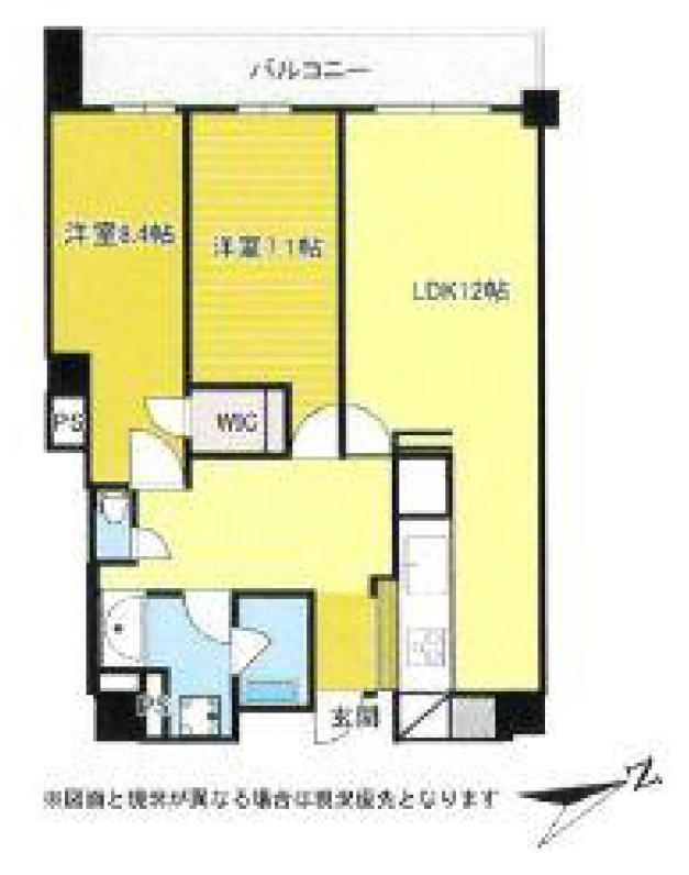常盤松ハウス 南青山アドレスに佇む、新築未入居の住まい 間取り図